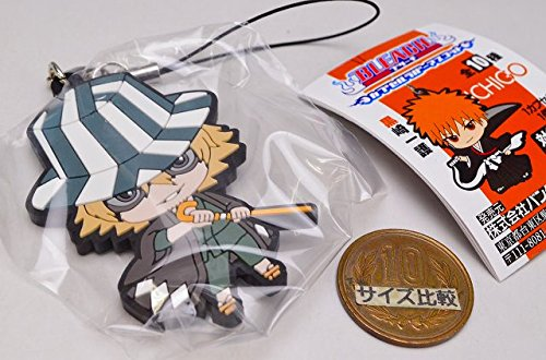 Bandai Co Ltd Bleach Rubber Mascot Strap - Urahara Kisuke