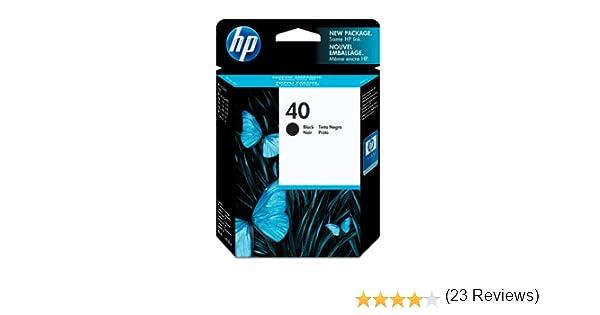 HP 51640A - Cartucho original Nº40, negro: Amazon.es: Oficina y ...