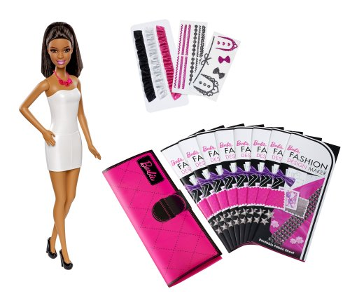 Barbie Fashion Design Maker Doll, Brunette]()