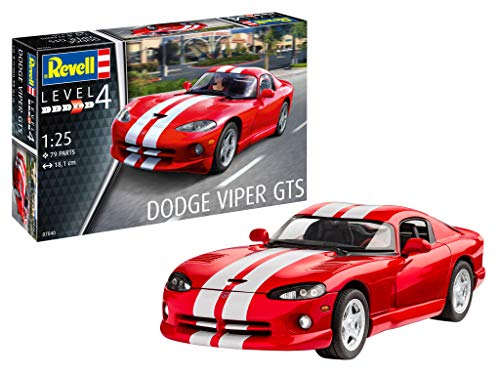 Revell 07040 Dodge Viper GTS, Multi Colour
