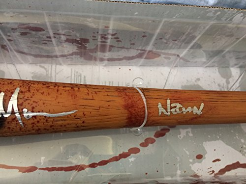 Jeffrey Dean Morgan autographed Lucille Take It Like a Champ Edition on