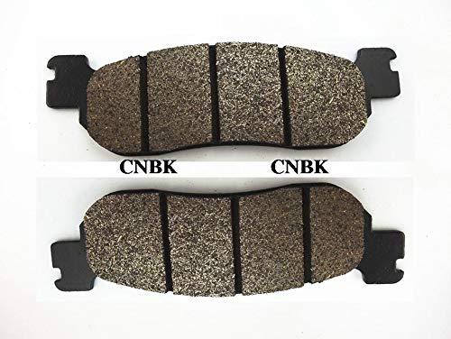 CNBP Rear Brake Pads Set fit for Yamaha YZF 1000 R1 YZFR1 YZF1000 02-03 YZF 600 R6 YZFR6 1999-2002 2000 2001 2003 2004 Rearsemi Metallic