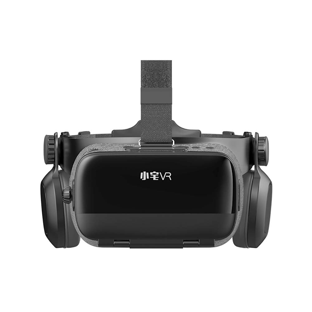 Vr Glasses, Immersive Experience 120° Large Field of View Can Prevent Blu-ray Support 600° Below Myopia Users Compatible 5-6 Inches Support Android and iOS Mobile Phones