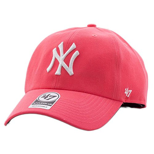 Rose brand Yankees Fit Mlb Relax Clean Up Curved Réglable New Casquette Taille York 47 V Z7UWXqgqP