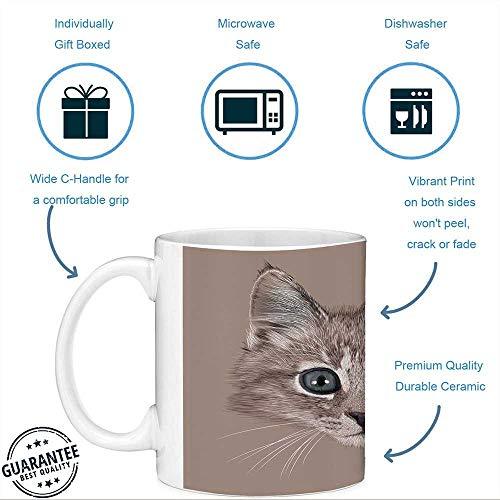 Taza de café divertida con cita animal 11 onzas Taza de café ...