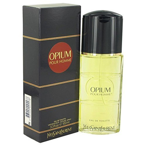 Opium By Yves Saint Laurent Men's Eau De Toilette Spray 3.3 Oz - 100% - Laurent Saint Perfume Opium By Vanilla Yves
