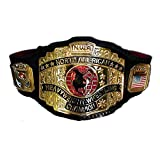 N.W.A. North American Heavyweight Wrestling Championship Replica Title Belt - Brass Metal 4mm Plates
