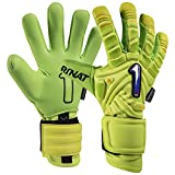 Rinat The Boss Pro Goalkeeper Glove (Free Customization) (Neon/Yellow, 10)