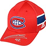 Jonathan Drouin Montreal Canadiens Autographed Adidas Cap - Fanatics Authentic Certified - Autographed NHL Hats