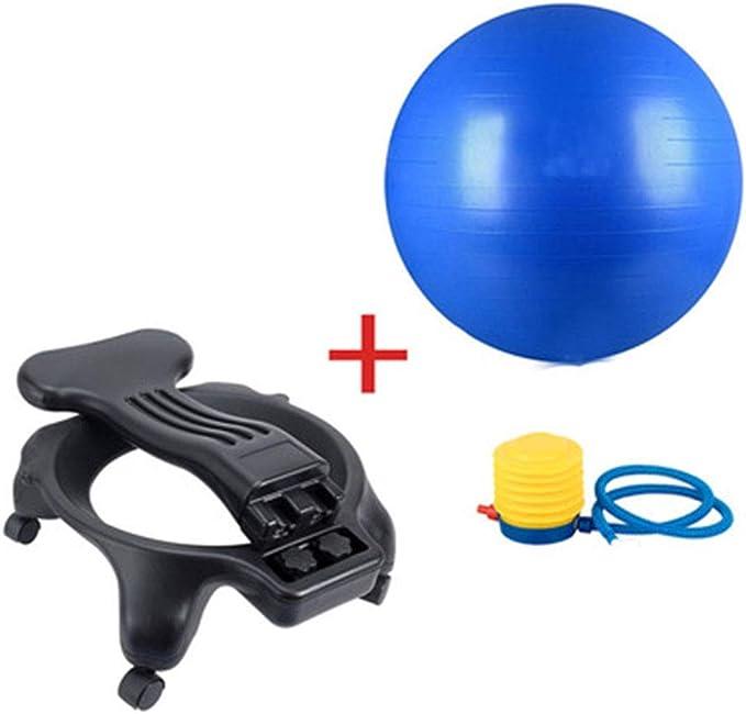 DBCSD Sillas de Ejercicios con balón Sillón de Yoga Sillón móvil ...