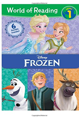 World of Reading Frozen Boxed Set: Level 1