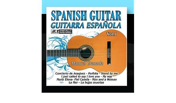 Spanish Guitar, Guitarra Espa?ola 1 by Manuel Granada: Spanish ...