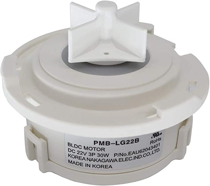 OEM Mania Authorized Factory Replacement EAU62043401 Motor Assembly, Dc, Pump Compatible with LG