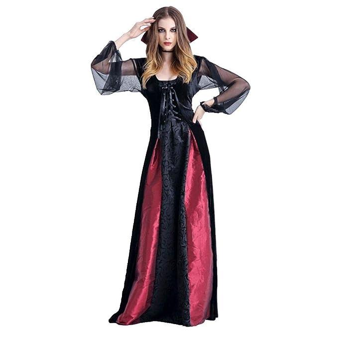 Halloween Disfraz para Mujer, Traje de Vampiresa Royal ...