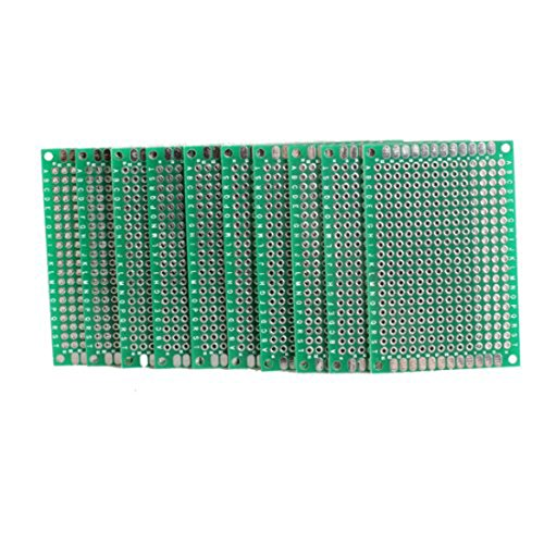20pcs 5x7cm Double Side Prototype PCB Universal Printed Circuit Board