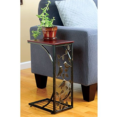 Indoor Multi-function Accent table Study Computer Desk Bedroom Living Room Modern Style End Table Sofa Side Table Coffee Table Sofa Side Table by DASII