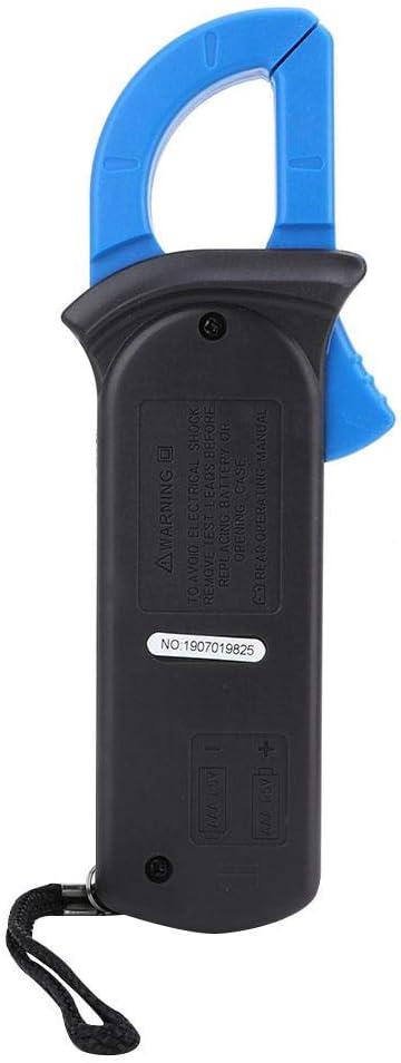Blu Yanmis Multimetro Digitale Corrente,Multimetro Digitale Automatico ST201 Multimetro Corrente Multimetro DC//AC Tester di Resistenza Tensione