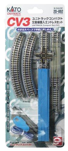 KATO Nゲージ CV3 ユニトラックコンパクト 交差線路入エンドレスセット 20-892 鉄道模型 レールセット