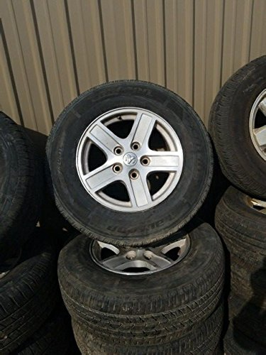 Premier Parts 2006 Dodge Durango Aluminum Rim Wheel Tire 245/70R17 17x8 5 Spoke 5 lug nut 17' Five Spoke