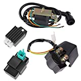 Ignition Coil CDI Regulator Rectifier Relay Kit Fits Chinese ATV Quad 50cc 70cc 90cc 110cc