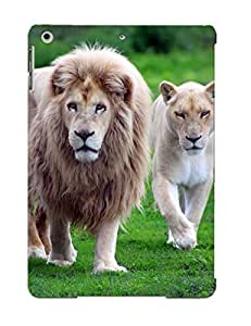 New Fashionable Markrebhood RhPDPPx3471Xrosz Cover Case Specially Made For Ipad Air(nature Animals Lions Wildcat White Lions Africa )