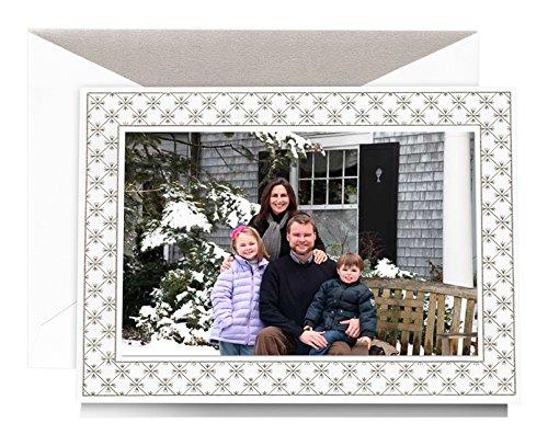 Crane Engraved Winter Wonderland Photo Mount Holiday Card (KP90445V)