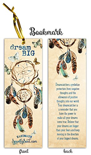 SPUNKYsoul New! Premium Handmade Dream Catcher - Peacock Feather  Dreamcatcher Indian Tradition Collection