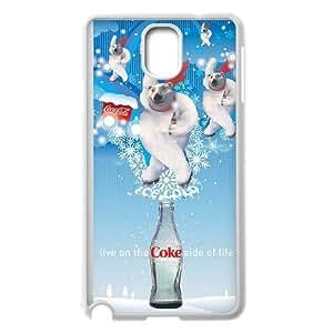 Coca Cola Samsung Galaxy Note 3 Cell Phone Case White 218y-794414