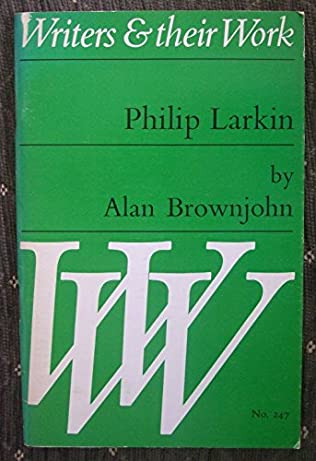 book cover of Philip Larkin