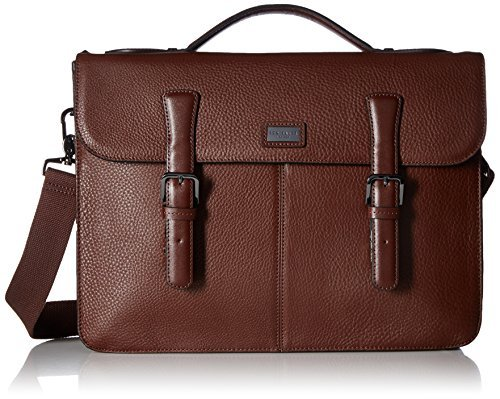 Ted Baker Men's Bengal Leather Satchel, Tan