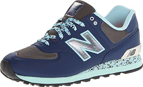New Balance MenS ML574 Atmosphere Classic Running Shoe, Azul, 44.5 EU/10 UK