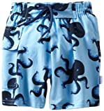 i play. Baby-boys Infant Ultimate Swim Diaper Pocket Trunks, Blue Octopus, 18 Months image