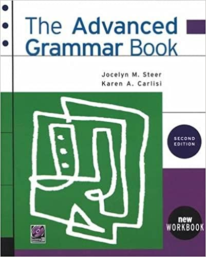 The advanced grammar book second edition jocelyn m steer karen a the advanced grammar book second edition 2nd edition fandeluxe Images