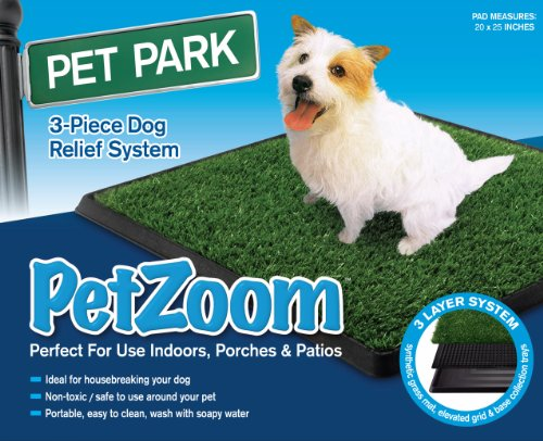 PetZoom Pet Park Indoor Pet Potty, Large 20