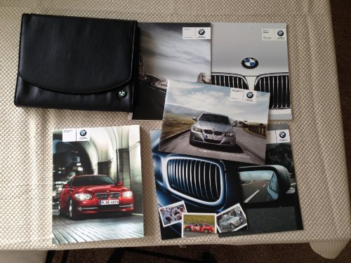 2011 BMW 3 Coupe/convertible Us-en Onwer's Manual Set with Case