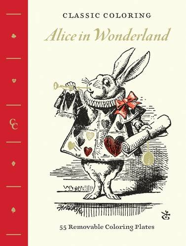Classic Coloring Wonderland Removable Plates product image