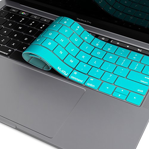 macbook keyboard cover teal - 1