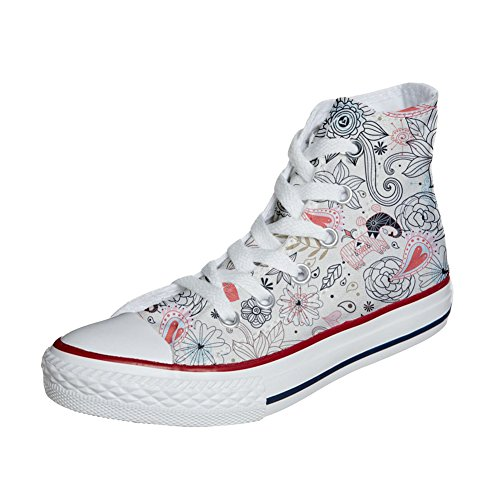 Converse Adulte Delicate artisanal produit chaussures Shoes Customized Your Make coutume 6qw7IEx