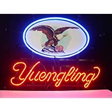 Yuengling Palm Tree Beer neon Signs Pub Display Beer Neon Light Signs Handicrafted Real Glass Tube19x15 THE FASTEST FREE SHIPPING