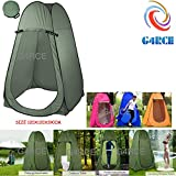 G4RCE Portable Instant POP Up Tent Camping Toilet Shower Changing Single Room Privacy Travel Tent With Bag (Green)