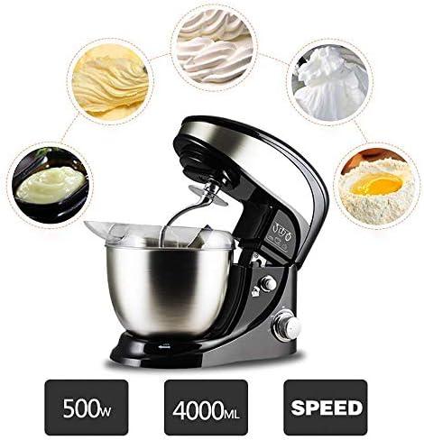 HLJ Elektrische voedsel mixer 4L roestvrij stalen kom Electric food mixer deeg gekneed mixer for kok