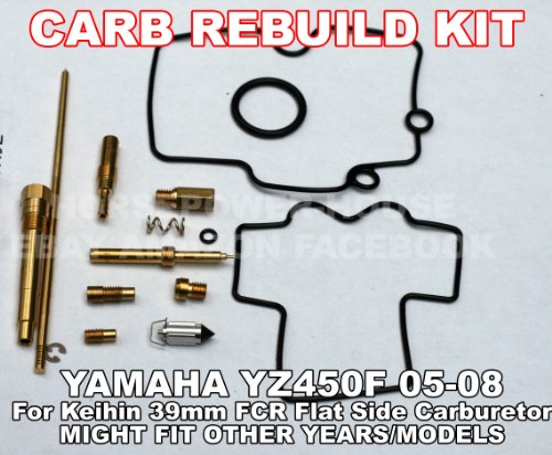 Carb Carburetor Rebuild Kit with O-Ring Gasket 160 Main 45