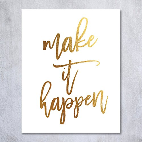 Happen Poster Inspirational Motivational inches product image