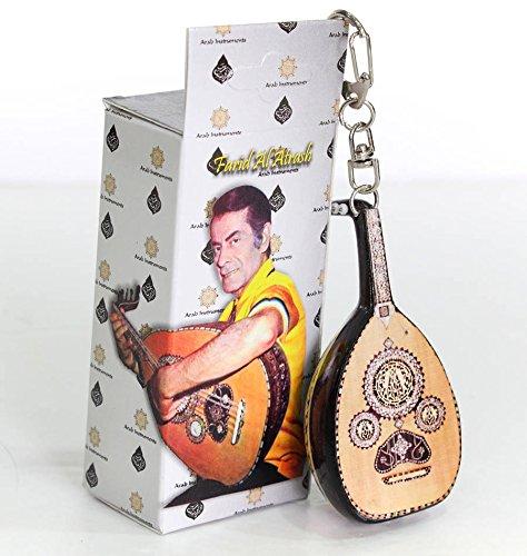 Oud miniature Key Chain - Farid Al Atrash Replica (One Oud) by Arab Instruments