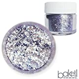 Bakell Soft Purple Food Grade Tinker Dust 4g Decorating Pearl Edible Glitter