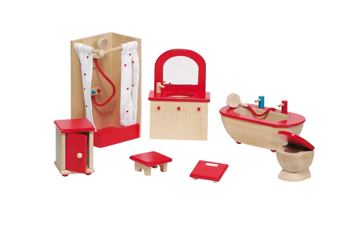 Furniture for Flexible Puppets Bathroom ROT