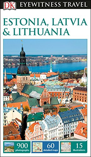 DK Eyewitness Travel Guide Estonia, Latvia & Lithuania