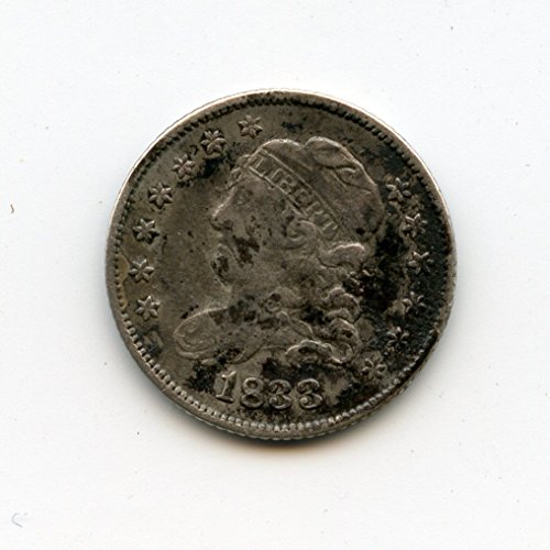 - 1833 Capped Bust Half Dime VF-20