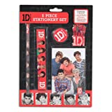One Direction '5 Piece' Stationery Set