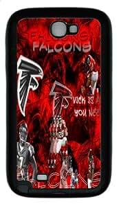 Popular Atlanta Falcons Logo,Atlanta Falcons Samsung Galaxy Note II N7100 Premium Hard Plastic Case Covers
